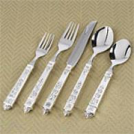 Ortega 20pc Silver-plated Flatware Set