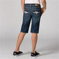 Paige Premium Denim Laurel Canyon Knee Short