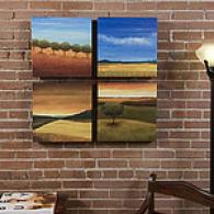 Painted Landscape Outdoor Canvas Prints