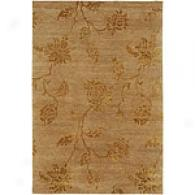 Pajaro Beige Mix Hand-knotted Wool & Silk Rug