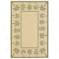 Palm Border Indoor/outdoor Rug