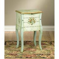 Pastel Green Jewelry Cabinet