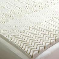 Peaceful Dreams 7-zone Visco Mattress Topper Pad