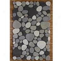 Pearls Light Stone Wool Rug