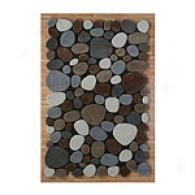 Pearls Oak Stone Wool Rug