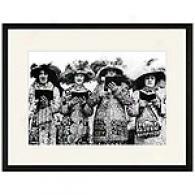 Pearly Quartette, London Framed Print, C. 1911