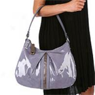 Perlina Patent Leather Shoulder Bag