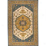 Persian Garden Collection Teal Blue Rug