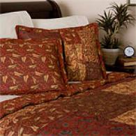 Petra Cotton Paisley Quilt Set