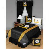 Pittsburgh Steelers Comforter & Sheet Set