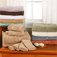 Plush Ultra Gentle 6pc Towel Set With Bonus Cloths