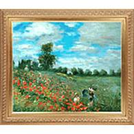 Poppy Field In Argetneuil Oil Painting By Monet