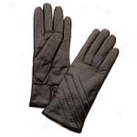 Portolano Italian Stitched Line Leather Gloves