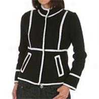 Pow Wow High Neck Boiled Wool Jacket