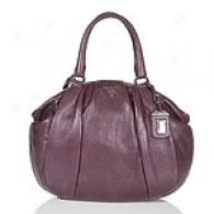 Prada Violet Leather Satchel