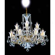 Preciosa Brilliant 12 Light Crystal Chandelier