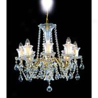 Preciosa Brilliant 8 Light Crystal Chandelier