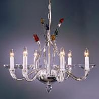 Preciosa Oasis 6 Light Crystal Chandelier
