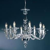 Preciosa Ocetta 8 Light Clear Crystal Chandelier