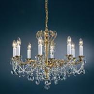 Preciosa Pushkin 8 Ligut Crystal Chandelier