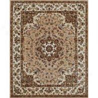 Puram Gold & Dark Ivory Hand Tufted Wool Rug