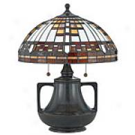 Quoizel Cherokee Tiffany Table Lamp