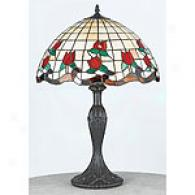 Quoizel Tiffany Rosebud Table Lamp