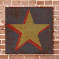 Qwerties Asterisk 16in X 16in Canvas Prints