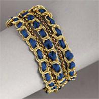 Rachel Leigh Swag Blueberry Hiopie Chic Bracelet