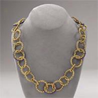 Rachel Leigh Sweet Tooth Plum Short Necklace