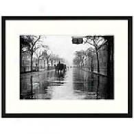 Rainy Day, New York City Framed Print