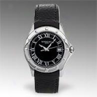 Raymond Weil Tango Black Leather Watch
