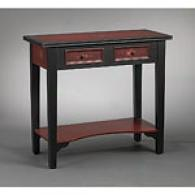 Red Flower Console Table