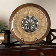 Renaissance Decorative Plate & Stand