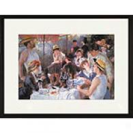 Renoir Luncheon Of The Boating Party Framed Print