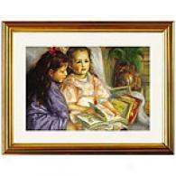 Renoir The Children Of Martial Cailoebotte Print