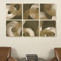 Revolution Set Of 6 16in Squarre Canvas Prints