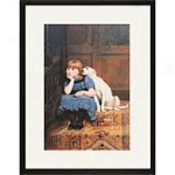 Riviere Sympathy Framed Print