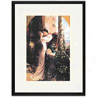 Romeo And Juliet Framed Print By Sir F. Dicksee