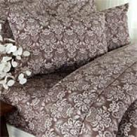 Royal Hotel 6.4oz Damask Flannel Sheet Ste