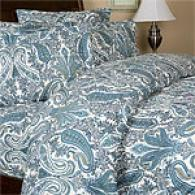Royal Hotel 6.4oz Paisley Flannel Duvet Set