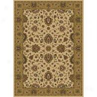 Royal Treasures Ivory & Gold Traditional Rug
