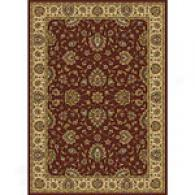 Royal Treasures Red Traditiknal Rug