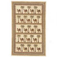 Safavieh Chelsea Collection Camel Caravan Wool Rug