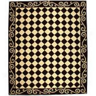 Safavieh Chelsea Collection Checkerboard Wool Rug
