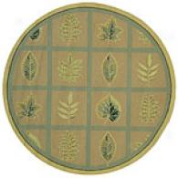 Safavieh Chelsea Collection Leaf Bent Round Rug