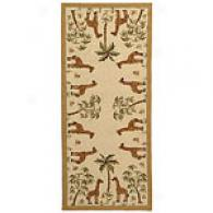 Safavieh Chelsea Collection Giraffe Palm Runner