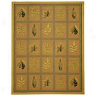 Safavieh Chelsea Collection Leaves Hookwd Rug