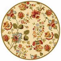 Safavieh Chelsea Floral Hooked Wool Round Rug