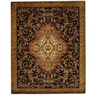 Safavieh Classic Collection Black Wool Rug